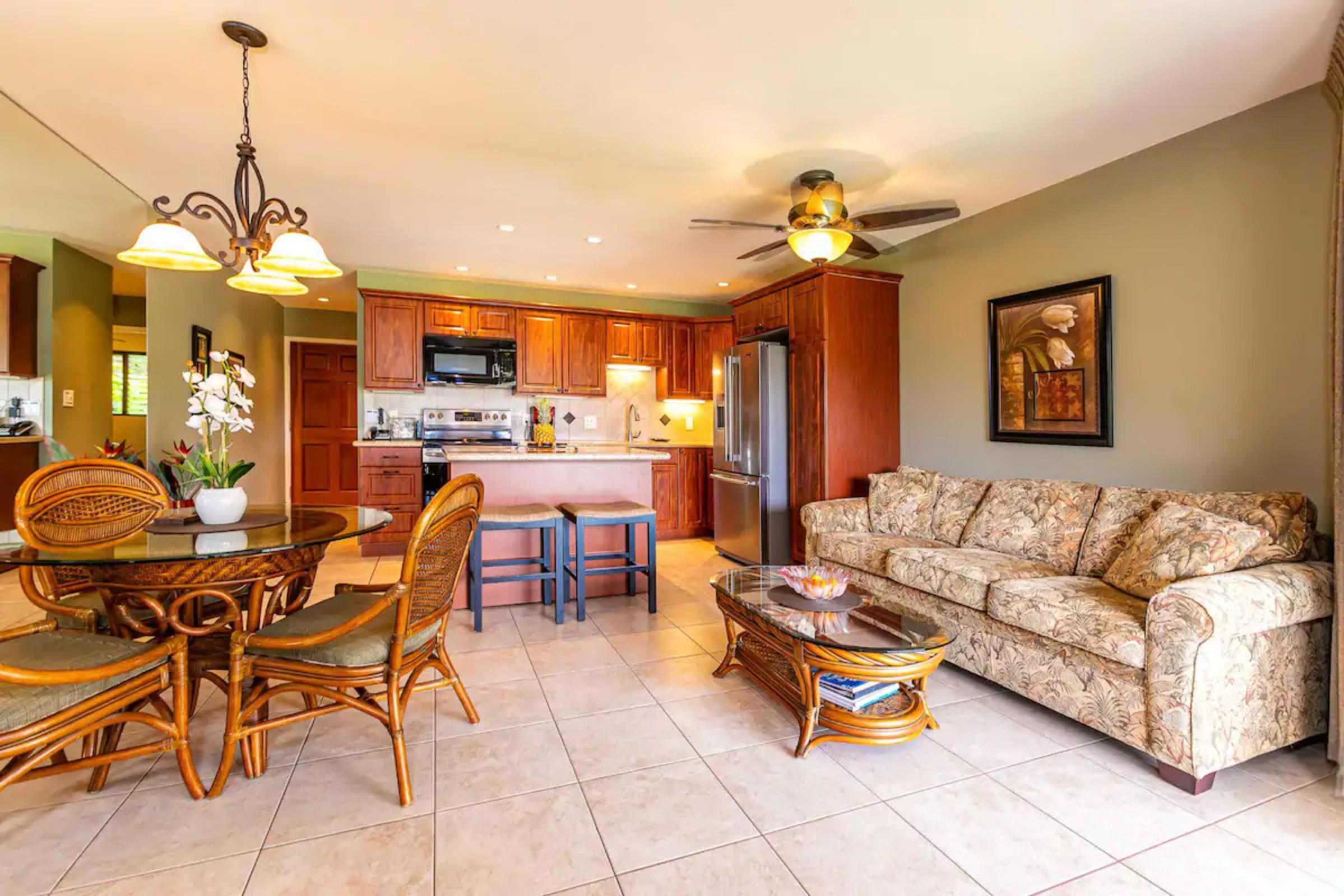ハワイナディア村:ルームレント室内