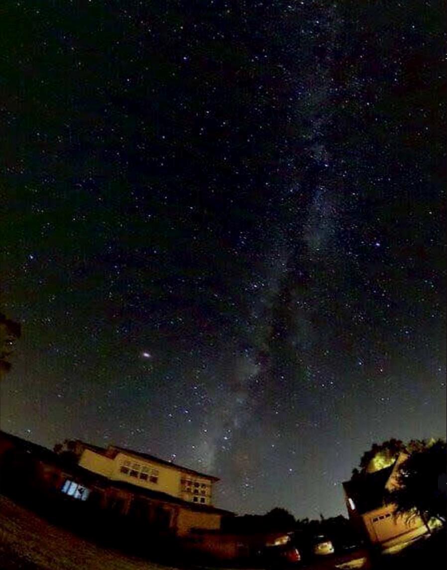 マウイの夜空